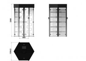 Torniquete Modelo Aço Carbono - Foto 2