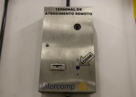 Terminal de Recepção Remota com dispensador de cartões - Foto 1
