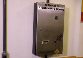 Terminal de Recepção Remota com dispensador de cartões - Foto 2